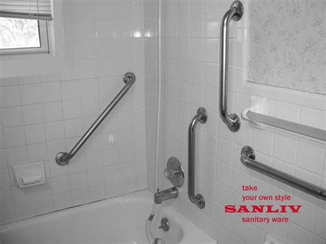 How To Install Handicap Bathroom Rails Or Grab Bars Bathroom Shower Rails