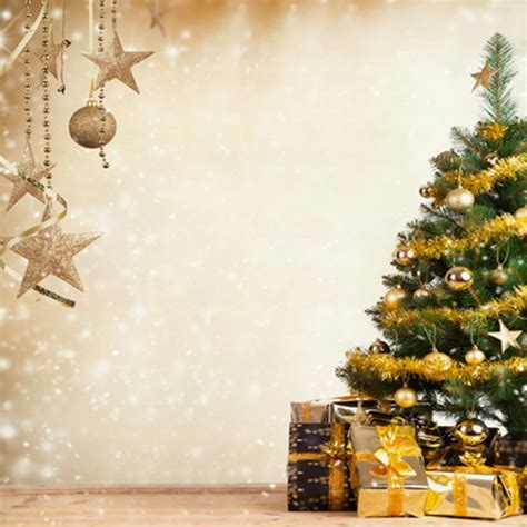 only 20 00 golden star christmas tree backdrops