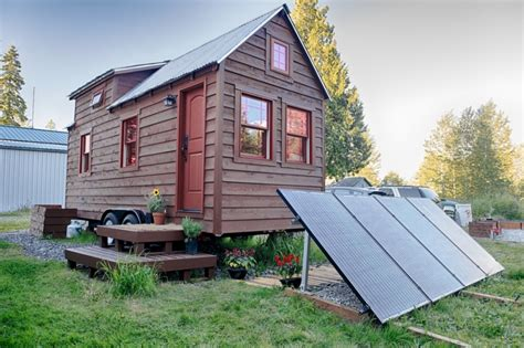 mobile tiny tack house is entirely built by and