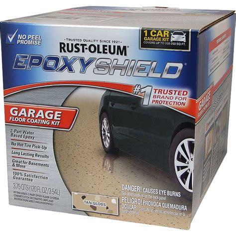 Rustoleum Garage Floor Paint Kit Rust Oleum 251966 Epoxyshield Garage Floor Coating