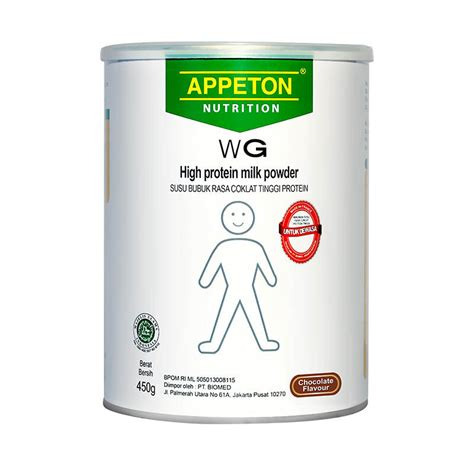 Appeton Weight Gain Buat Remaja jual appeton weight gain coklat 450 gr jd id