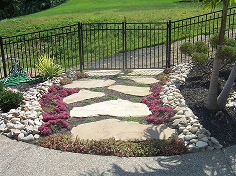 Backyard Stones Landscape Terrific Landscaping Rock Designs Landscaping