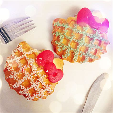 Squishy Hello Waffle jumbo hello sugar waffle squishy