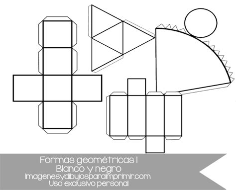 Figuras Geometricas Recortables Pdf | figuras geom 233 tricas recortables para imprimir