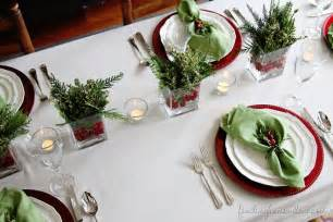 Christmas Table Setting by 6 Simple Christmas Table Ideas Perfect For Last Minute