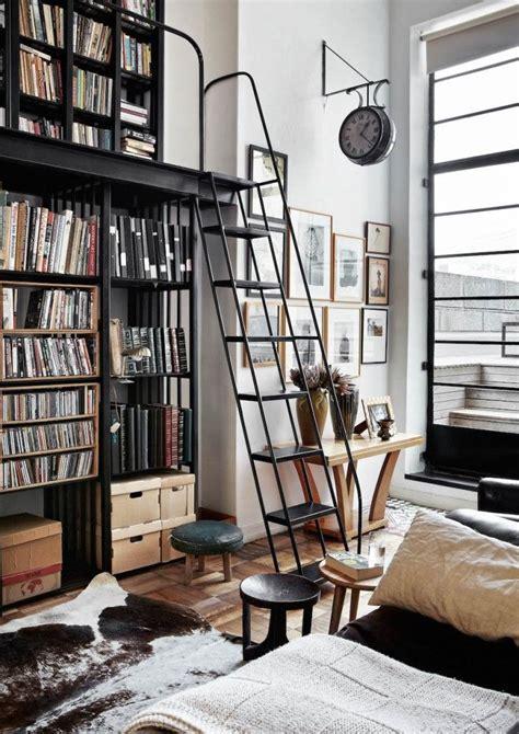Library Shelf Ladder by Best 25 Book Wall Ideas On Diy Bookshelf Wall