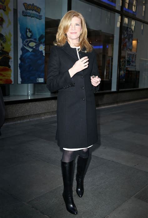 rene russo 2014 rene russo arrives at nbc studios on the today show in new