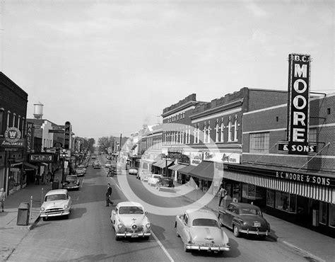 Lancaster Sc Records Downtown Lancaster Sc 1953 16x20 Photo Print Photograph Ebay