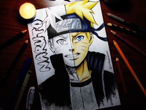 V Anime Drawing by Speed Drawing Anime Speed Drawing Uzumaki