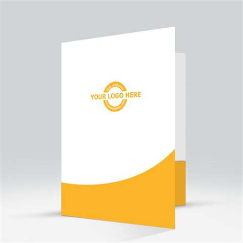 company folder template upward mobility yellow folderprinters