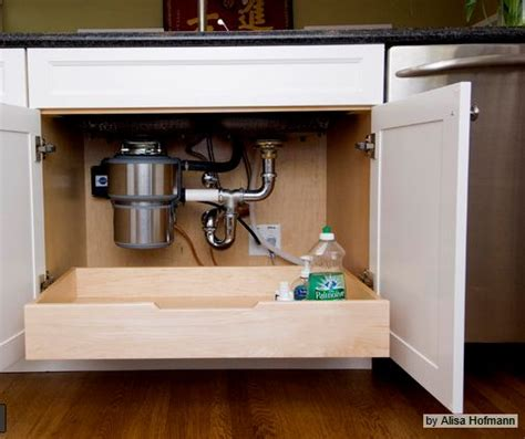 roll out drawer under kitchen sink roll out drawer in