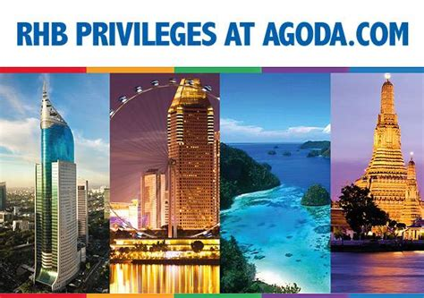 agoda standard chartered rhb credit card promotion enjoy up to 7 off at agoda com