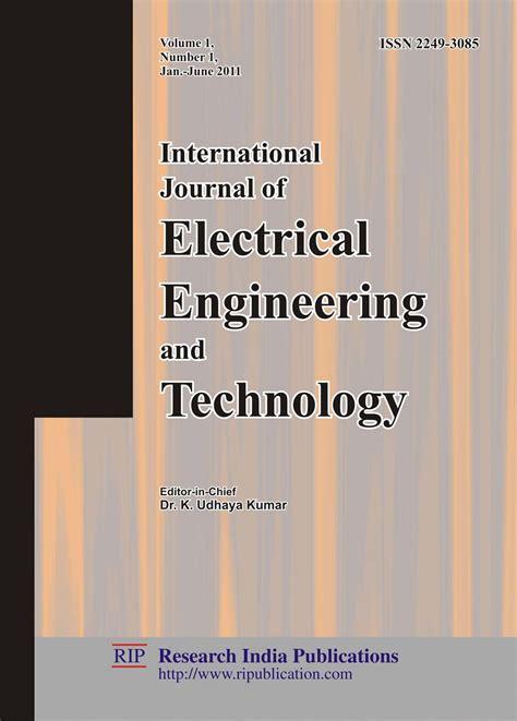 ijeet international journal  electrical engineering  technology computer science journals