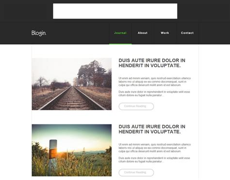 13 Free Html5 Css3 Blog Website Templates Exclusive Condo Website Templates