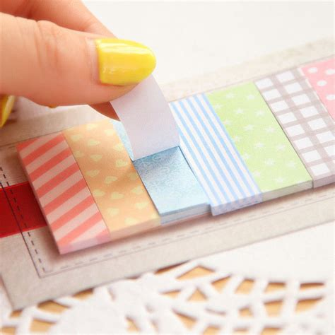 Post It Note Memo Sticky Stick Notes Pastel Rainbow Color aliexpress popular sticky notes in office school