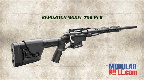 Mcrees Rifle Vs Mba by Remington Model 700 Pcr Precision Chassis Rifle