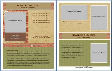 free realtor flyer templates free real estate flyer and postcard