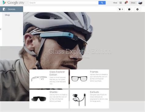 What Can You Buy With A Google Play Gift Card - now you can buy google glass from the play store for 1500 liliputing