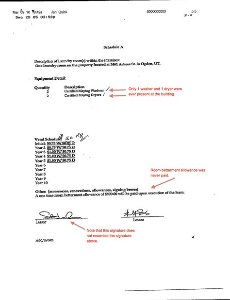 Letter Of Agreement Signatures Kier Corp S Crap The Of A Landmark Questionable Contract Signaturesdecember 29 2005