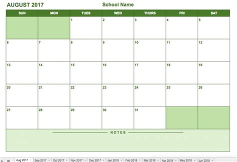 drive calendar template templates station