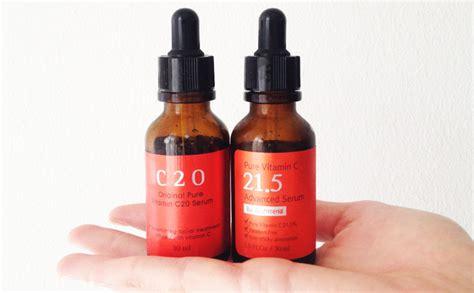 Ost C20 C21 5 Sheet Mask ost vitamin c20 serum vs c20 vitamin c21 5 advanced