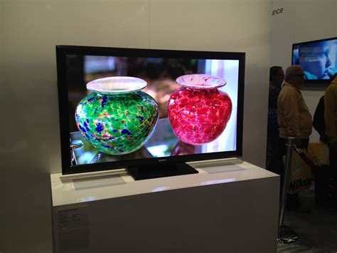 Sony Shows Off 55 Inch Crystal LED HDTV TechHive