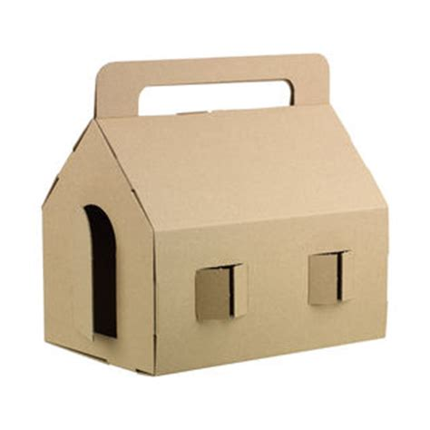 cardboard house swissmiss muji cardboard house