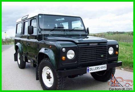 land rover defender 110 suv diesel 4x4 right drive