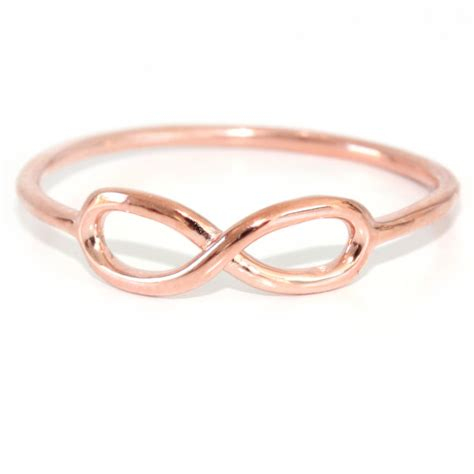 infinity rings gold infinity ring hardtofind