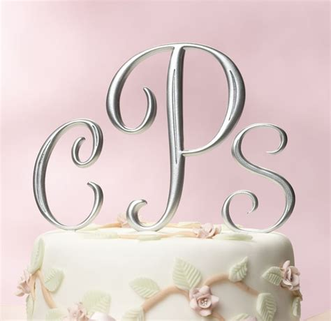 Monogram Wedding Cake Toppers by Wedding Cakes Monogram Wedding Cake Toppers Monogram