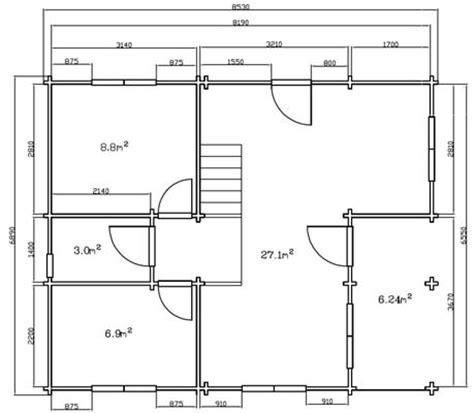 piantina di casa l incantevole casa in legno blockhaus legnonaturale