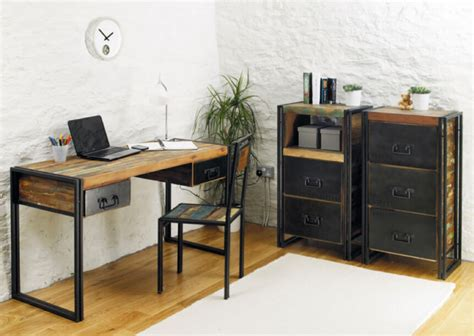 industrial style home office desk making industrial furniture ideas best element
