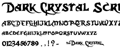 design gothic font calligraphy fonts medieval gothic script fonts dark