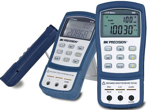 capacitance meter bk precision b k precision offers 100 khz handheld lcr meter with bench performance