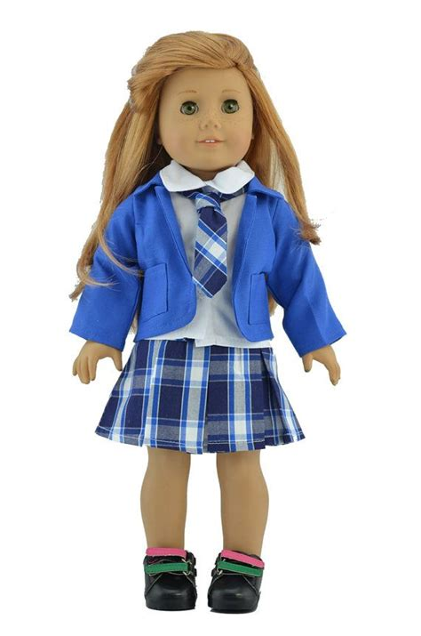18 american doll clothes blue school for 18 quot doll 18 doll clothes 18