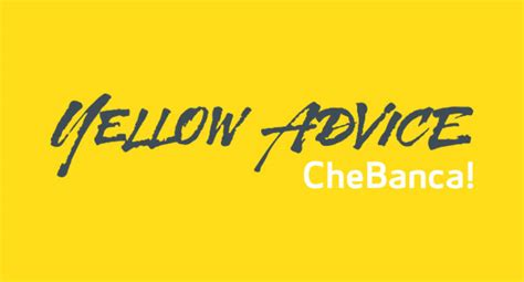 che banca yellow advice servizio di consulenza finanziaria di chebanca