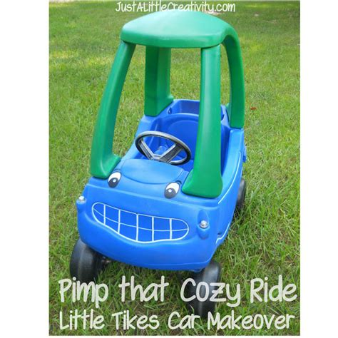 Cer Makeover | pimp that cozy ride little tikes car makeover just a