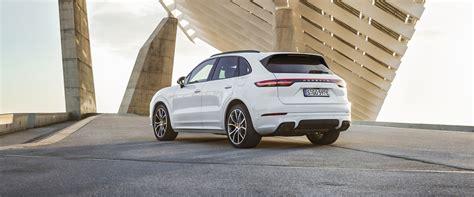 Porsche Cayenne Horsepower by 2019 Porsche Cayenne E Hybrid Arrives With 455 Horsepower