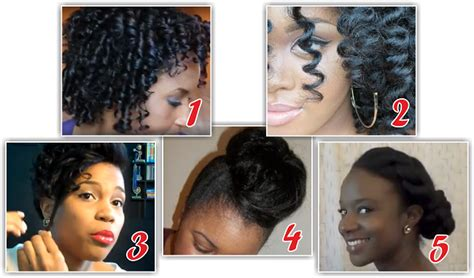 black hairstyles without heat hairstyles for short relaxed hair without heat hairstyles
