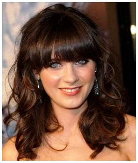 Pictures Of Medium Hairstyles With Bangs by Medium Layered Hairstyles With Bangs