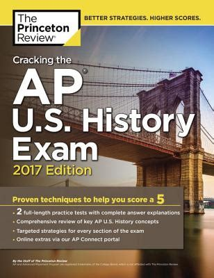 cracking the ap u s history 2018 edition proven techniques to help you score a 5 college test preparation cracking the ap u s history 2017 edition proven