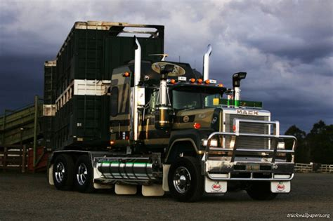mack and volvo trucks trucks wallpapers mack trucks