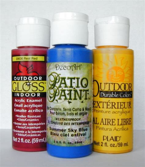 Outdoor Acrylic Paint For Crafts