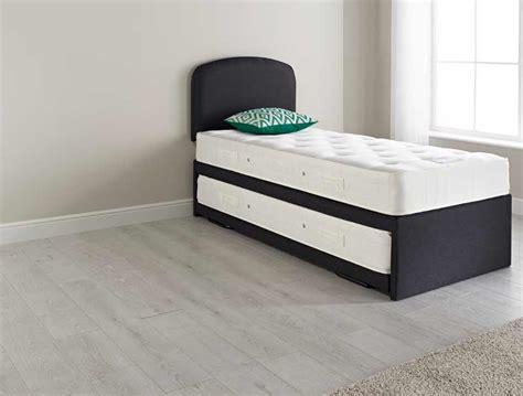 bed pocket relyon upholstered pocket spring guest bed buy online at