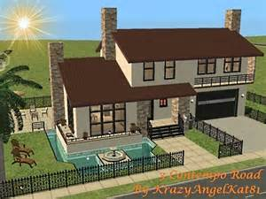 Sims 3 Family House Plans Mod The Sims 3 Contempo Road Split Level Part Furnished Home Fixtures Fittings