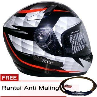 Helm Kyt K2 Rider Putih kyt k2 rider black diamon hitam putih gratis rantai