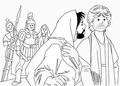 coloring pages of judas betrays jesus cute pumpkin coloring sheets colorings net