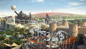 Yas Island World Theme Park Yas Waterworld Middle East S Largest Waterpark Opens