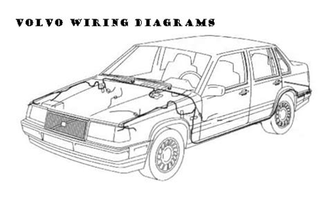 2000 volvo s80 wiring diagrams manuals