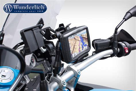 Navi Am Motorrad Montieren by Wunderlich Garmin Halterung Zumo 590 595 Extrem